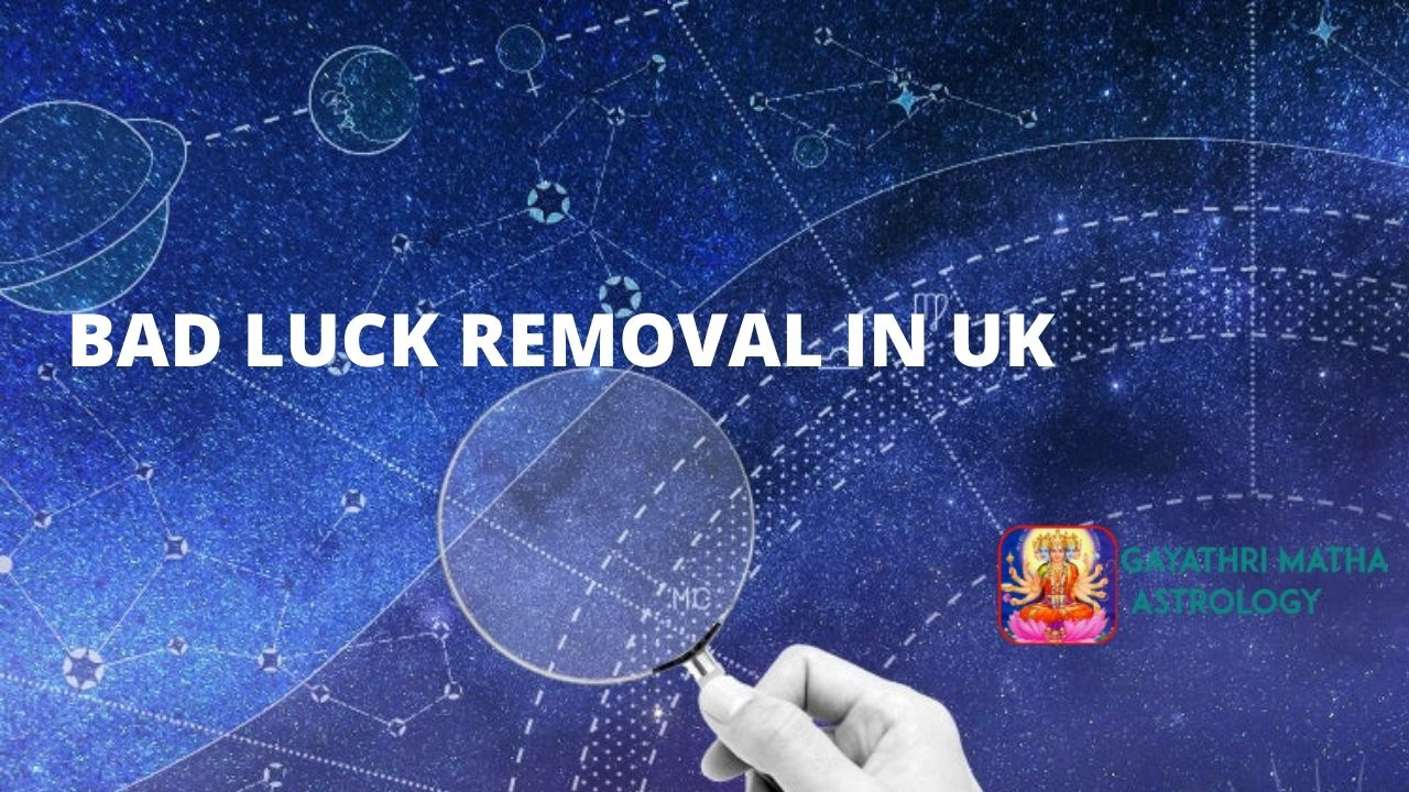 Bad luck removal in UK
