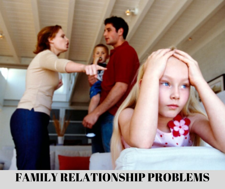 Family relationship problems