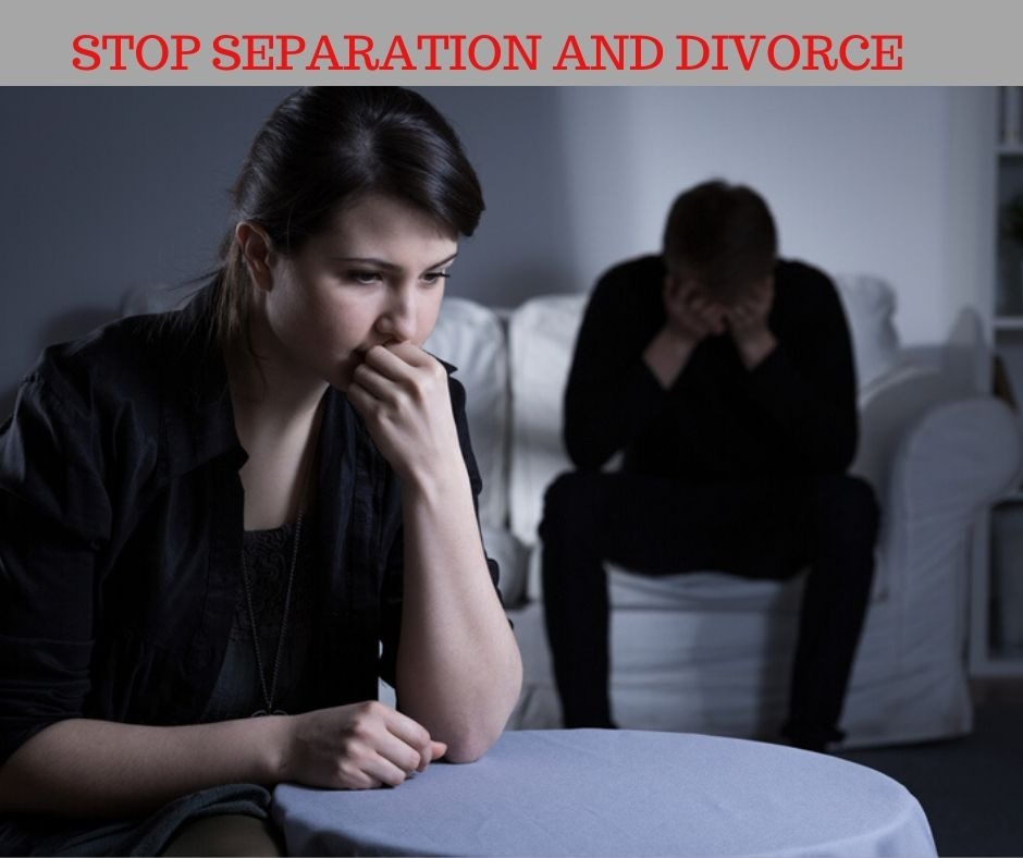 Stop Separation And Divorce